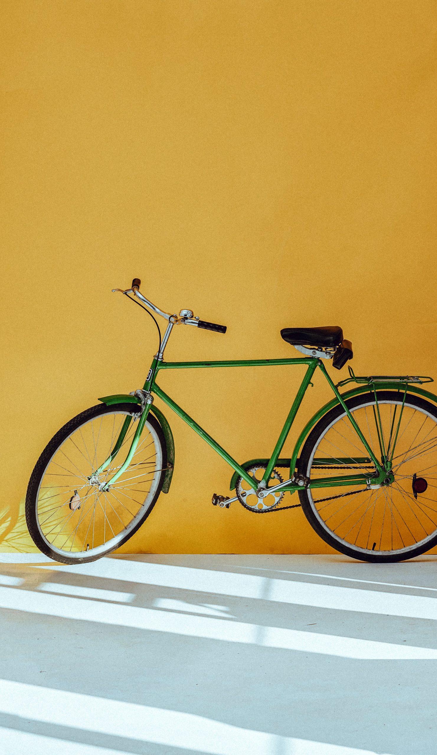 fiets-groen-oranje